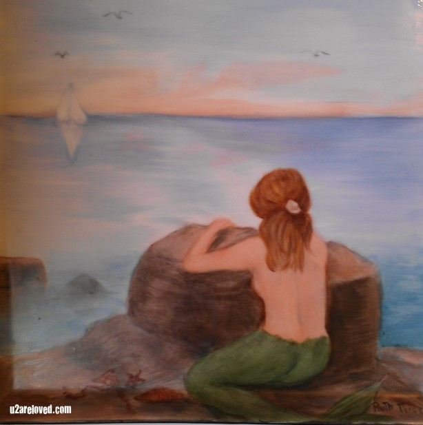 Mermaid by Ruth Price.JPG u2areloved