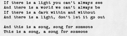 Song for Someone