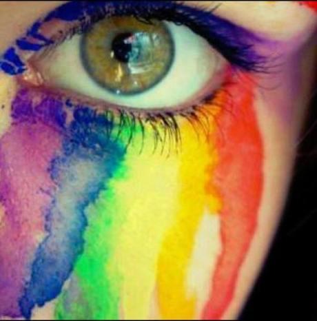 Rainbow tear